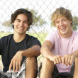 Teenage Boys Sitting In — Stock Photo #4823360