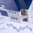 Concept Showing Decline In Housing Market — Stock Photo