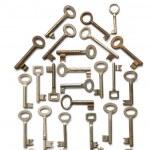 House Made From Keys — Stock Photo
