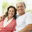 Senior Couple Relaxing At Home — Stock Photo #4823850