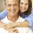 Senior couple relaxing together — Stock Photo