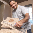 Plasterer - Stock Photo