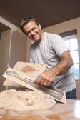 Plasterer — Stock Photo