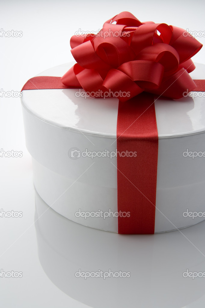 Gift Wrapped Box — Stock Photo #4823450
