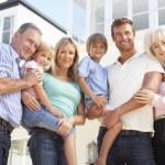 familia joven — Foto de Stock