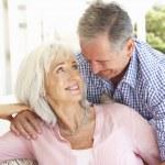 Portrait Of Senior Couple — Stock Photo #4838676