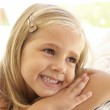 Portrait Of Young Girl Relaxing — Stock Photo