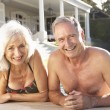 Senior Couple Relaxing by — Stock Photo #4838790