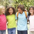 Group Of Schoolchildren — Stock Photo #4838853