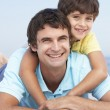 Father And Son Wearing — Stock Photo #4839278