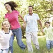 Family Enjoying Walk — Stock Photo #4839341