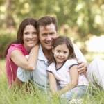 Family outdoors — Stock Photo #4839368