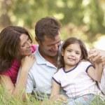 Family outdoors — Stock Photo #4839373