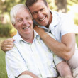 Senior Man With Adult Son — Stock Photo #4839392