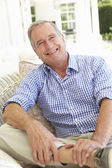 Portrait Of Senior Man Relaxing — Stockfoto