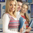 Portrait Of Group Of Teachers In Classroom — Stock Photo