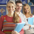 Portrait Of Group Of Teachers In Classroom — Stock Photo #4840467