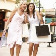 Senior Mother And Daughter Enjoying Shopping Trip Together — Stock Photo #4842701
