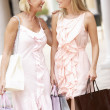 Senior Mother And Daughter Enjoying Shopping Trip Together — Stock Photo