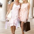Senior Mother And Daughter Enjoying Shopping Trip Together — Stock Photo #4842760