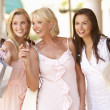 Senior Mother And Daughters Enjoying Shopping Trip Together — Stock Photo #4842763