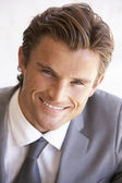 Portrait Of Young Businessman — Stock Photo