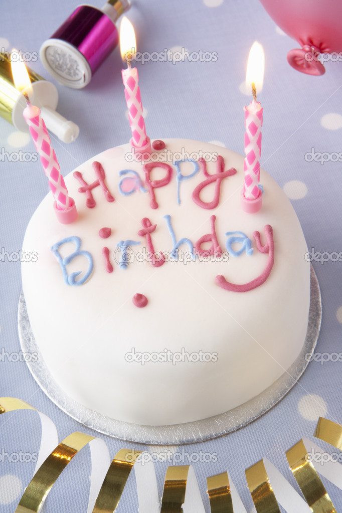 A birthday cake — Stock Photo #5179821