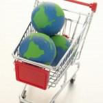 Global e-commerce — Stock Photo