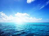 Ocean and perfect sky — Stockfoto