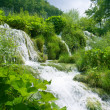 Waterfall in deep forest — Stock Photo #4607341