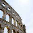 Roman colosseum in Pula, Croatia — Stock Photo #4608021