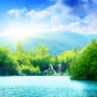 Lake in deep forest — Stock Photo #4608196