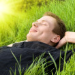 Relax under summer sun — Stock Photo #4608338