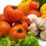 Wet vegetables — Stock Photo