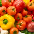 Wet vegetables — Stock Photo #4608406