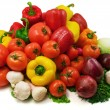 Wet vegetables — Stock Photo #4608447