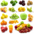 Large page of fruits — Foto Stock