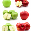 Page of apples — Stock Photo