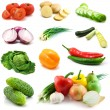Vegetables isolated on the white — Stock Photo #4608607