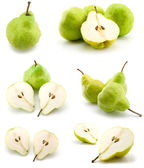 Page of pears — Stock Photo