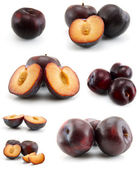 Page of plums — Stock Photo