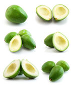 Page of avocados — 图库照片