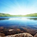 North mountain lake — Stock Photo