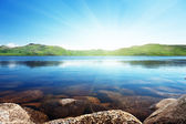 North mountain lake — Stock Photo