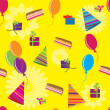 Happy birthday pattern — Stock Vector #4584040