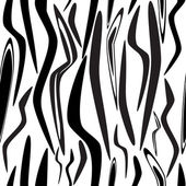 Zebra skin — Stock Vector