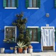 Royalty-Free Stock Photo: Burano blue home