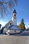 St. Anthony Church Collalbo Italy — Stock Photo