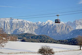 Bolzano cablecar — Stock Photo
