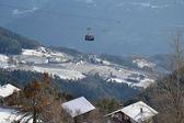 Bolzano linbana — Stockfoto